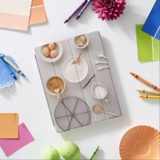 Capa Smart Para iPad Ingredientes do cozimento