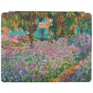 Capa Smart Para iPad Íris no jardim de Monets em Giverny por Claude