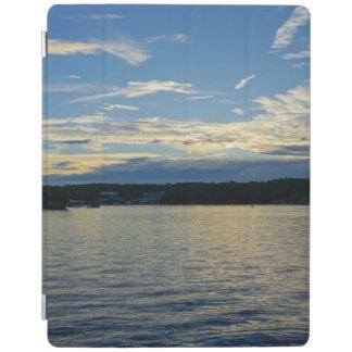 Capa Smart Para iPad Lago azul sunset de Ozarks
