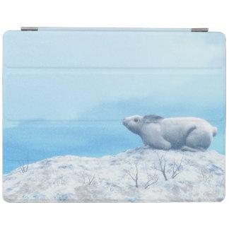 Capa Smart Para iPad Lebre ártica, lepus ártico, ou coelho polar
