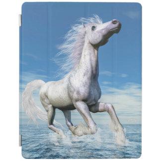 Capa Smart Para iPad Liberdade do cavalo branco - 3D rendem