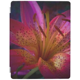 Capa Smart Para iPad Lírio cor-de-rosa - confusão bonita