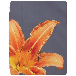 Capa Smart Para iPad Lírio de dia deslocado com cobrir esperto do iPad