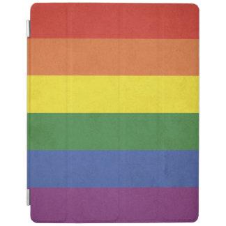 Capa Smart Para iPad Listras do arco-íris