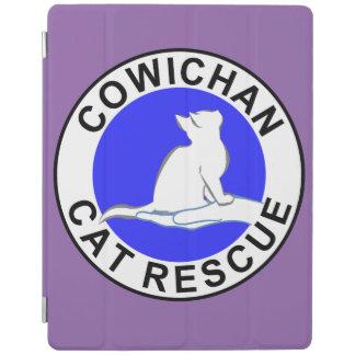 Capa Smart Para iPad Logotipo do salvamento do gato de Cowichan