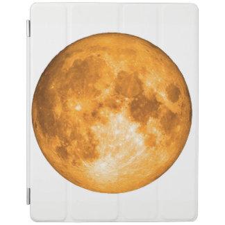 Capa Smart Para iPad Lua cheia alaranjada