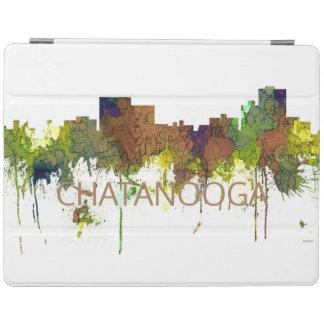Capa Smart Para iPad Lustre do safari da skyline de Chatanooga
