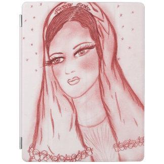 Capa Smart Para iPad Luz das estrelas Mary no vermelho