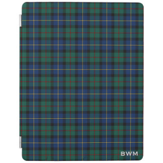 Capa Smart Para iPad MacLeod do monograma do Tartan do clã de Skye
