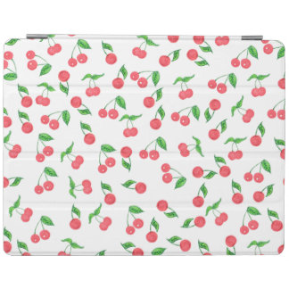Capa Smart Para iPad mão bonito teste padrão tirado da cereja da