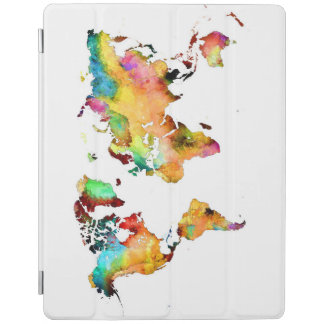 Capa Smart Para iPad mapa do mundo