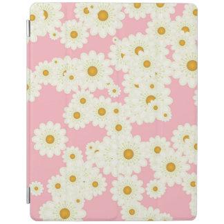 Capa Smart Para iPad Margaridas no rosa