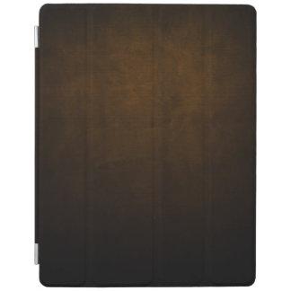 Capa Smart Para iPad Matéria têxtil escura do Grunge