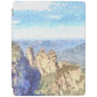 Capa Smart Para iPad Montanhas ásperas e bonitas