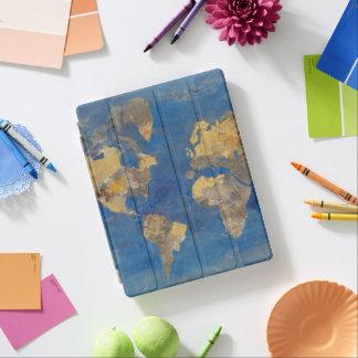 Capa Smart Para iPad Mundo dourado