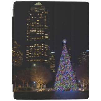 Capa Smart Para iPad Natal na noite do parque de Warren