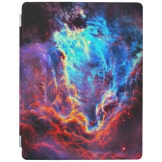 Capa Smart Para iPad Nebulosa composta da estrela da cor imponente