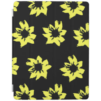 Capa Smart Para iPad O amarelo floresce o cobrir esperto do iPad