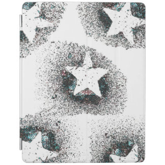 Capa Smart Para iPad O branco Stars o cobrir esperto do iPad