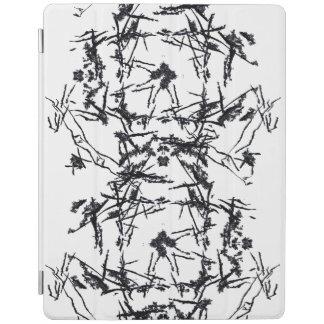 Capa Smart Para iPad O preto dá forma ao cobrir esperto do iPad