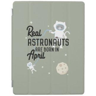 Capa Smart Para iPad Os astronautas são em abril Zg6v6 nascidos