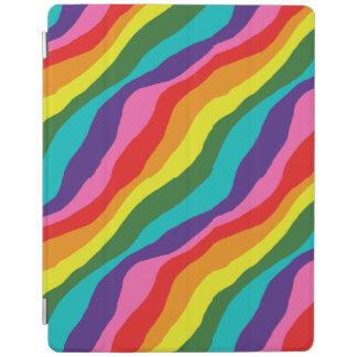Capa Smart Para iPad Padrões do arco-íris