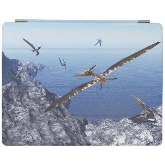 Capa Smart Para iPad Pássaros de Pteranodon - 3D rendem