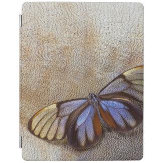 Capa Smart Para iPad pena egípcia do ganso da borboleta da Vidro-asa