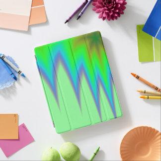 Capa Smart Para iPad Pico azul verde-claro