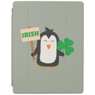 Capa Smart Para iPad Pinguim irlandês com trevo Zjib4