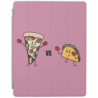 Capa Smart Para iPad Pizza de Pepperoni CONTRA o Taco: Mexicano contra