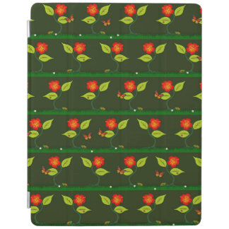 Capa Smart Para iPad Plantas e flores