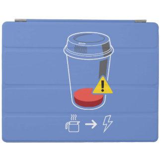 Capa Smart Para iPad Ponto baixo nivelado do café