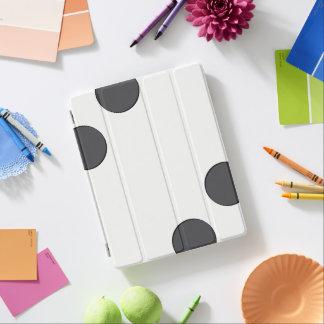 Capa Smart Para iPad Pontos DarkGrey Checkered