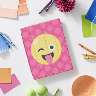 Capa Smart Para iPad Pontos do bobo de Emoji