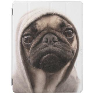 Capa Smart Para iPad Pug em um Hoodie