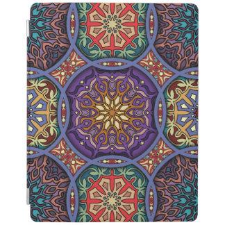 Capa Smart Para iPad Retalhos do vintage com elementos florais da