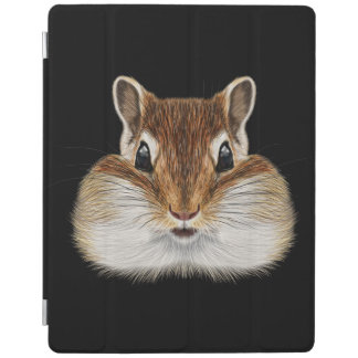 Capa Smart Para iPad Retrato ilustrado do Chipmunk.