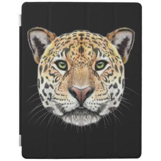 Capa Smart Para iPad Retrato ilustrado do Jaguar.