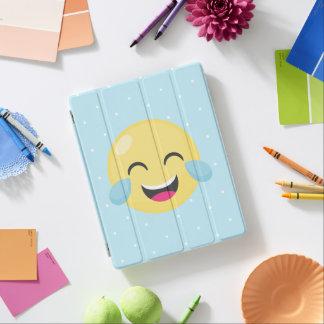 Capa Smart Para iPad Rindo para fora pontos altos de Emoji