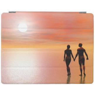 Capa Smart Para iPad Romance do casal - 3D rendem