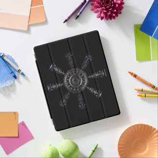 Capa Smart Para iPad Rune☼ ancestral e espiritual do ☼Aegishjalmur -