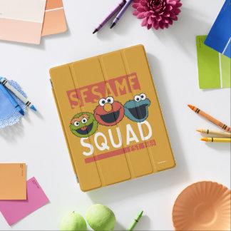 Capa Smart Para iPad Sesame Street - pelotão do sésamo