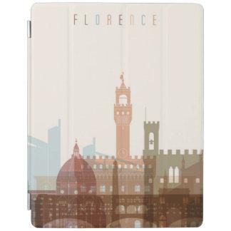 Capa Smart Para iPad Skyline da cidade de Florença, Italia  
