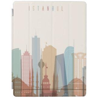 Capa Smart Para iPad Skyline da cidade de Istambul, Turquia |