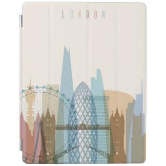 Capa Smart Para iPad Skyline da cidade de Londres, Inglaterra |