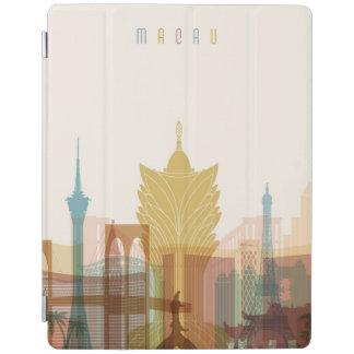 Capa Smart Para iPad Skyline da cidade de Macau, China  