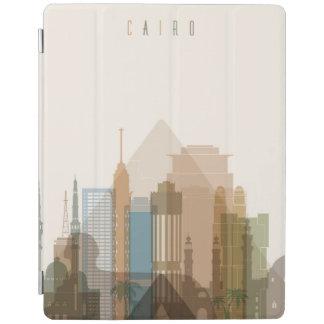 Capa Smart Para iPad Skyline da cidade do Cairo, Egipto  