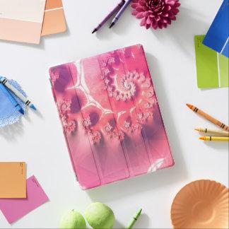 Capa Smart Para iPad Sorvete cor-de-rosa para 21 sabores de Fibonacci