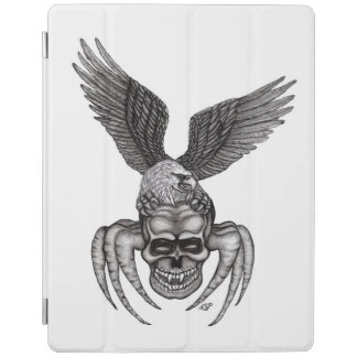 Capa Smart Para iPad Spiderskull com Eagle